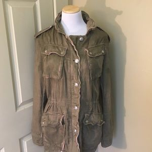 Free People Not Your Brother's Utility Jacket M